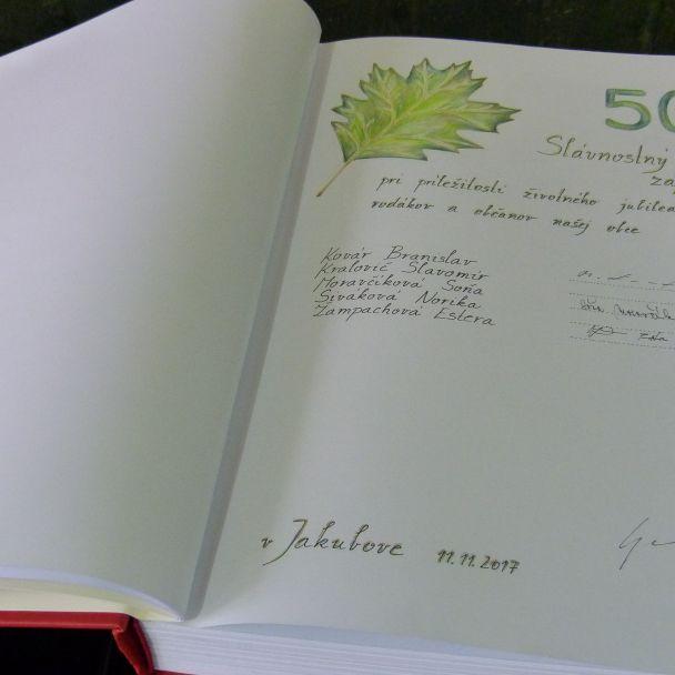 Jubilanti 50 a 60 roční 2017