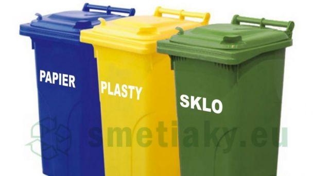 Kalendár zberu separovaného a komunálneho odpadu na II. polrok 2019