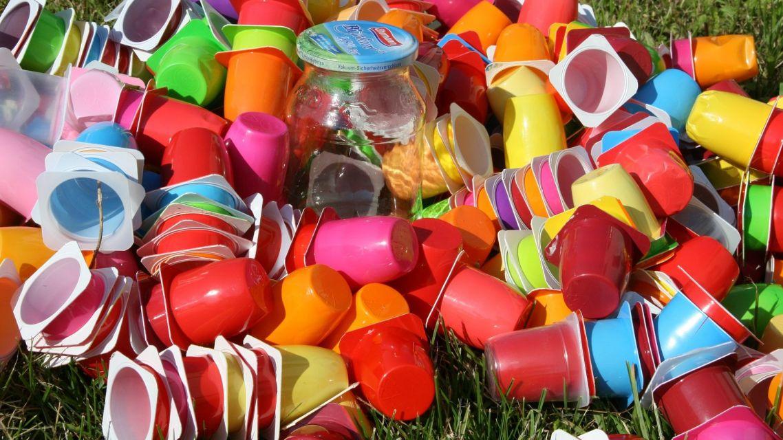 Vývoz plastu