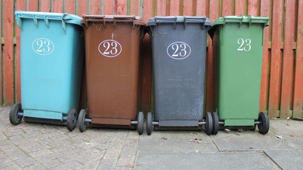 Vývoz komunálneho odpadu - piatok